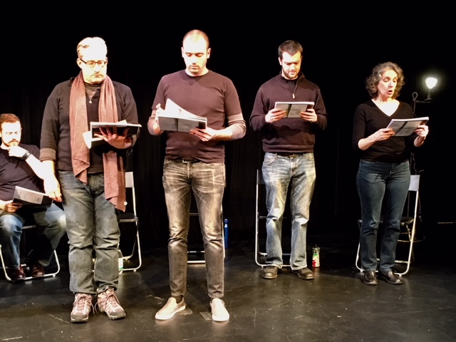 A reading to fight hate at Capital Fringe.