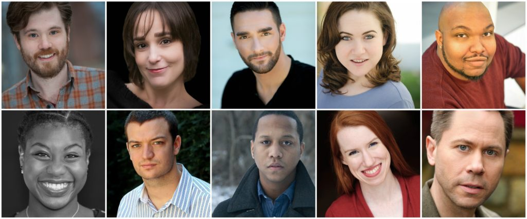 Cast of Perisphere Theater's Tartuffe.